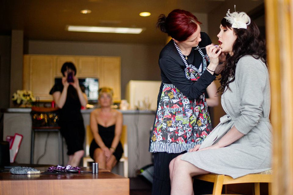 Boston Bridal and Wedding Makeup by Amber Lynne Makeup Artist | Photography courtesy of Maria Hibbs | Camille